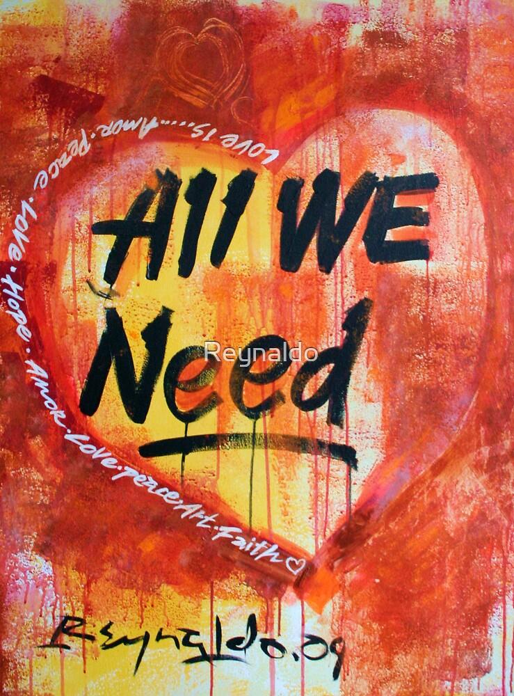Love Is  by Reynaldo