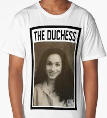 THE DUCHESS - Megan Markle, the Duchess of Sussex Long T-Shirt