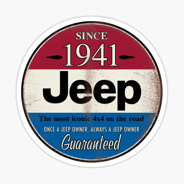 Qualité de Jeep Sticker