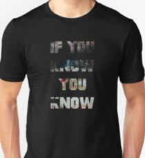 Pusha T Daytona If You know You Know Unisex T-Shirt