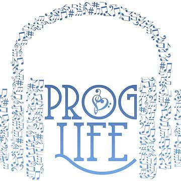Prog Life Headphones | Blue Ink by ProfThropp