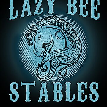 LAZY BEE STABLES Cute Horse by Greenbaby