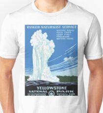 Vintage Yellowstone National Park Travel Unisex T-Shirt