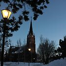 Luleå Cathedral by CaitlinRuth