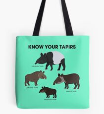 Know Your Tapirs Tote Bag