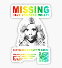 Have You Seen Molly? Sticker