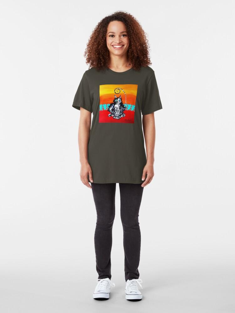 Alternate view of TomCat TipToe Slim Fit T-Shirt