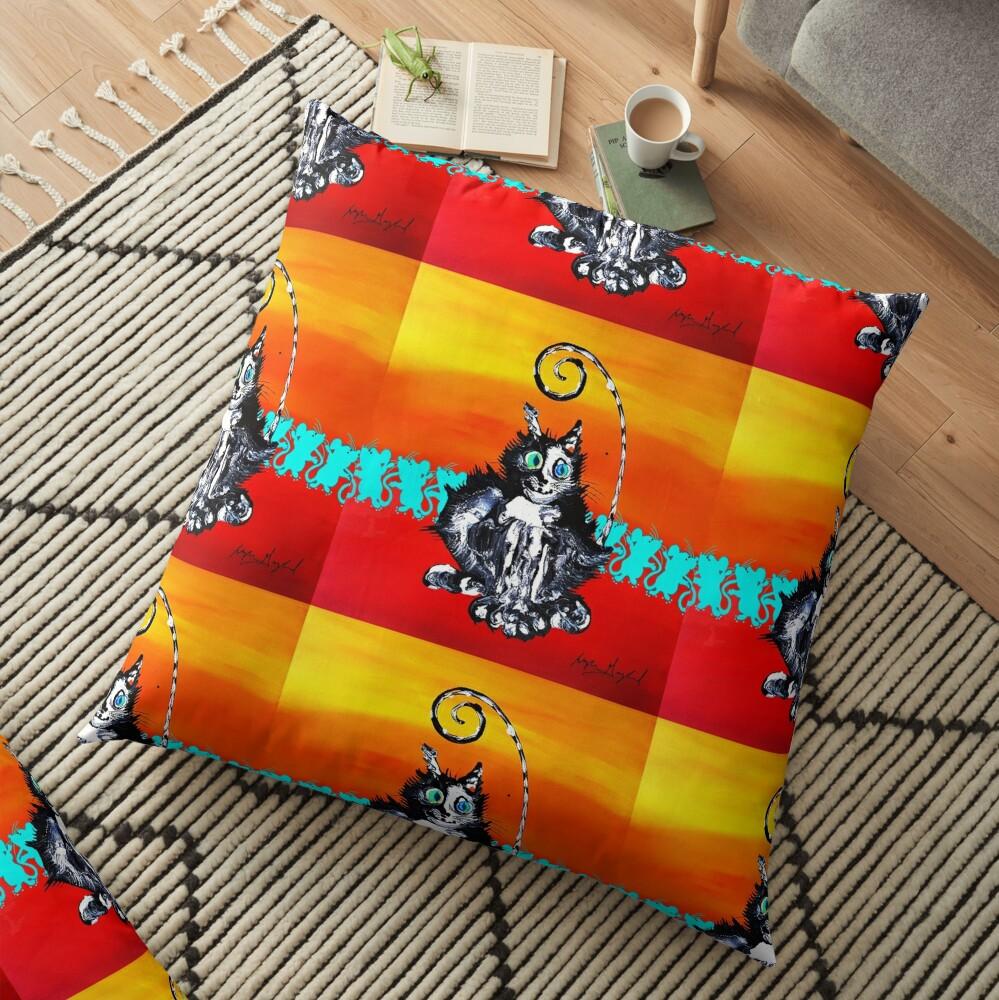 TomCat TipToe Floor Pillow