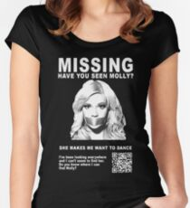 Have You Seen Molly? Women's Fitted Scoop T-Shirt