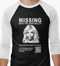 Have You Seen Molly? Men's Baseball ¾ T-Shirt