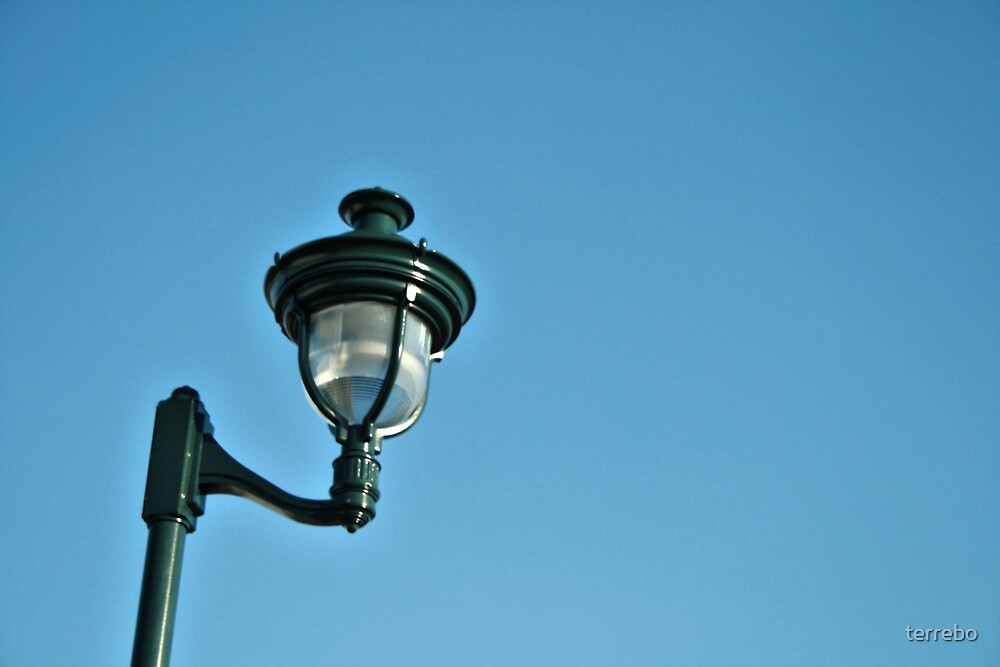 Light In Blue Clear Sky by terrebo