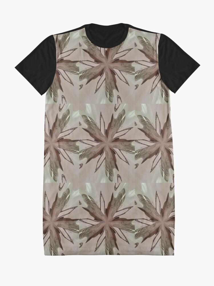 Alternate view of pattern, design, tracery, weave, decoration, motif, marking, ornament, ornamentation, #pattern, #design, #tracery, #weave, #decoration, #motif, #marking, #ornament, #ornamentation Graphic T-Shirt Dress
