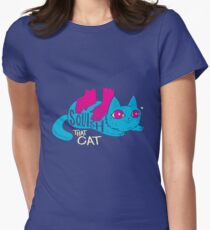Squish that Cat! Women's Fitted T-Shirt