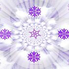 Abstract Burple by June Holbrook