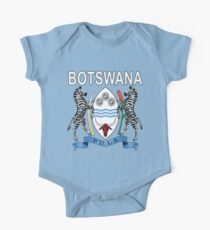 Botswana Coat of Arms National Pride Design One Piece - Short Sleeve