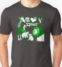 I Love Zoos (green 2015) T-Shirt