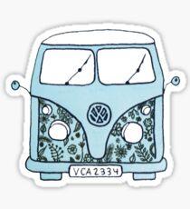 blue tumblr van sticker Sticker