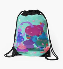 Bubblegum Party Drawstring Bag