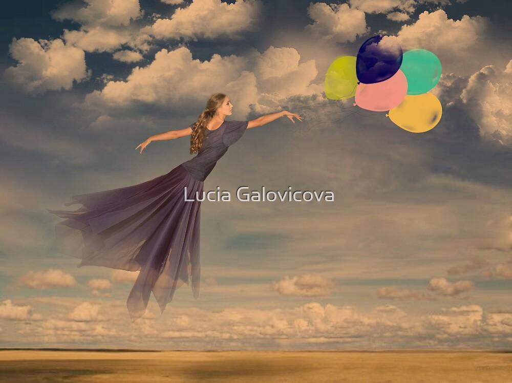 Balloon Girl by Lucia Galovicova