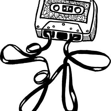Cassette Boy by bware-clothing