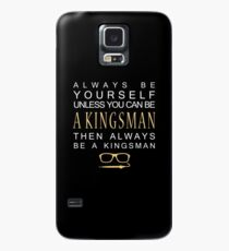 Be a Kingsman. Case/Skin for Samsung Galaxy