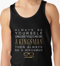 Be a Kingsman. Tank Top