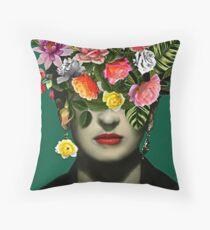 new frida kahlo series Throw Pillow