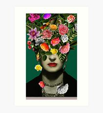 neue Frida Kahlo Serie Kunstdruck