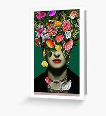 new frida kahlo series Greeting Card