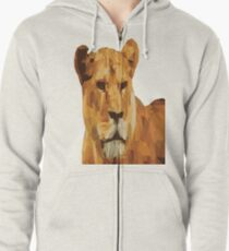 LIONESS Pop Art Zipped Hoodie