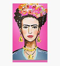frida kahlo canvas Photographic Print