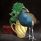 Still Life with Native Hen by ria gilham