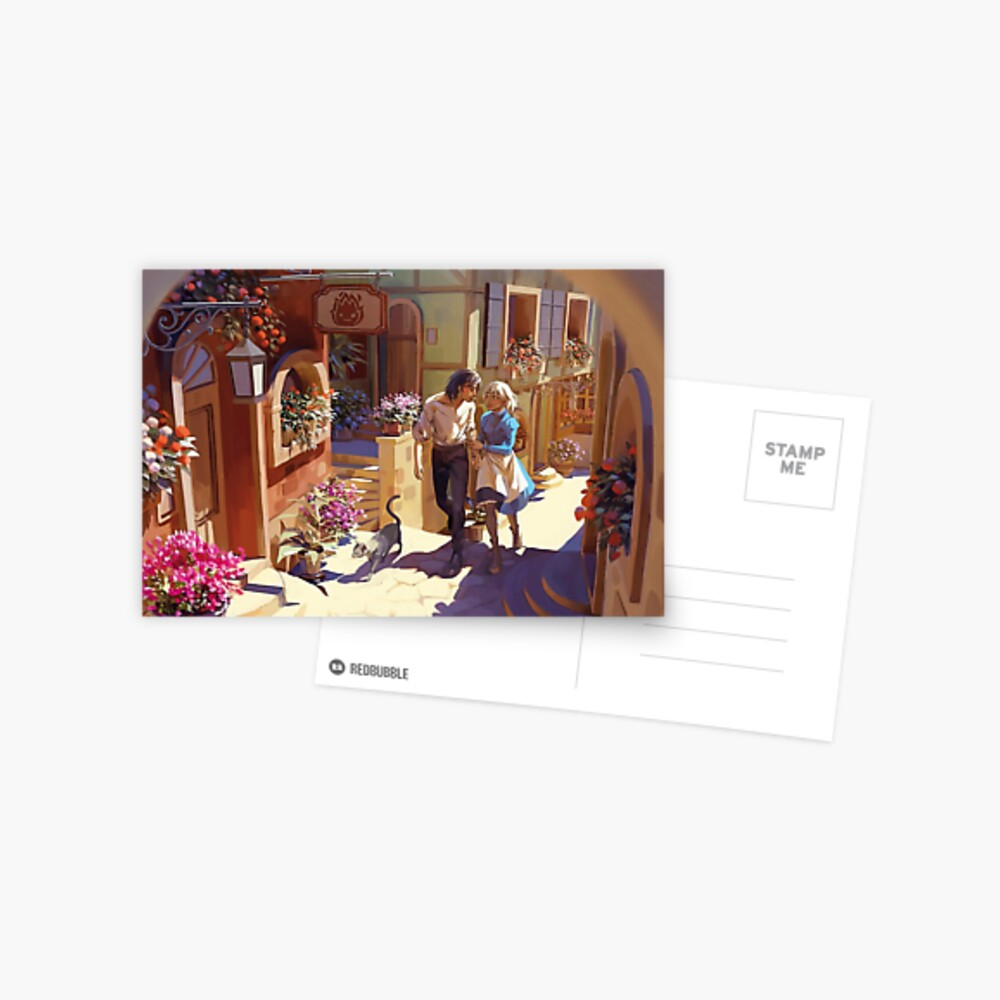 Howl's Moving Castle Postcard