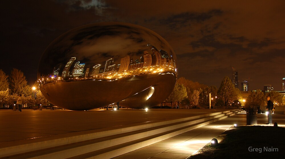 Chicago in a Magic Bean by Greg Nairn