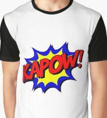 Kapow-Comic Graphic T-Shirt