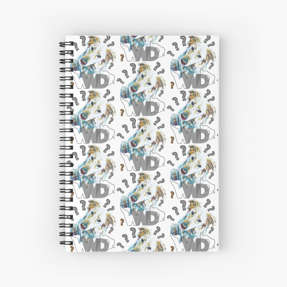 What Would Dogs Do? Mascot  Spiral Notebook