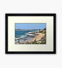Mooloolaba Beach Framed Print
