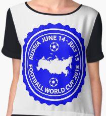 2018 FIFA World Cup Chiffon Top