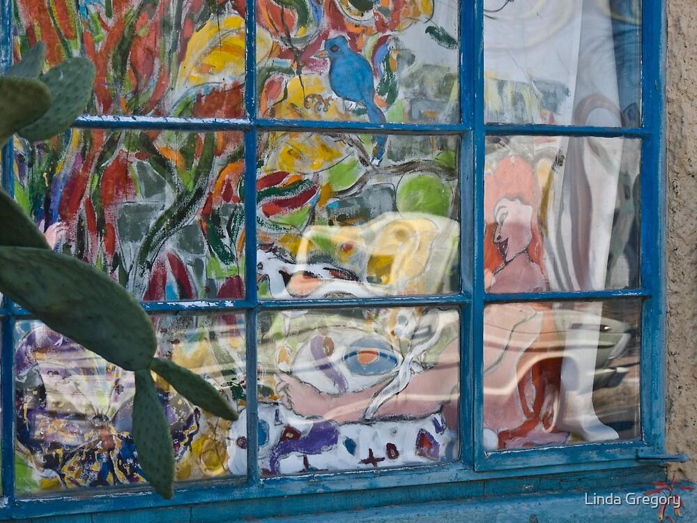 Elysian Grove Market Window by Linda Gregory