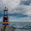 Rainbow Pier by leff-photo