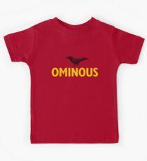 Ominous Crow Kids Tee