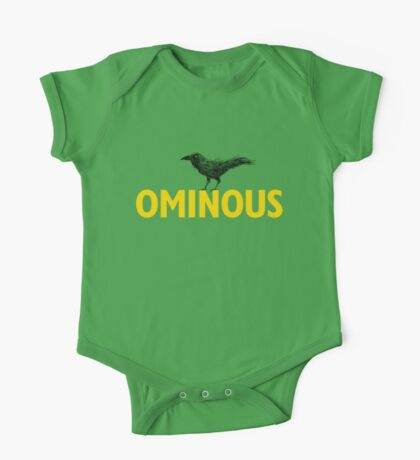 Ominous Crow Kids Clothes