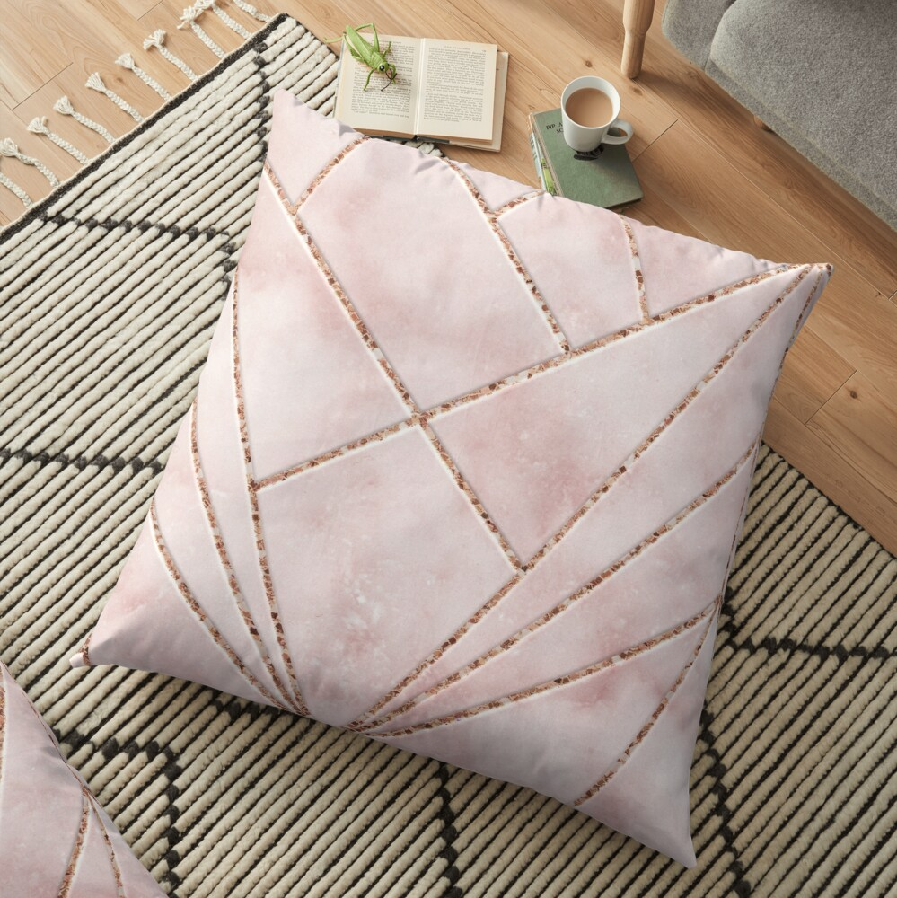Love and illusion Floor Pillow
