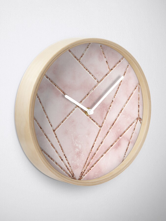 Alternate view of Love and illusion Clock