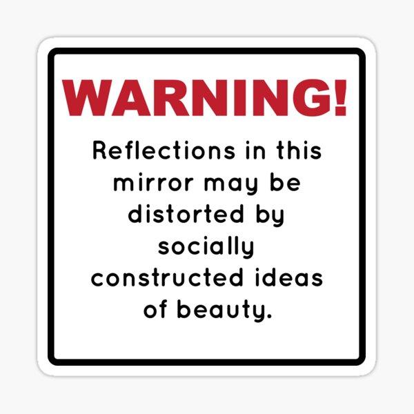 Feminist Warning Sticker