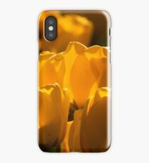 Yellow Tulips iPhone Case