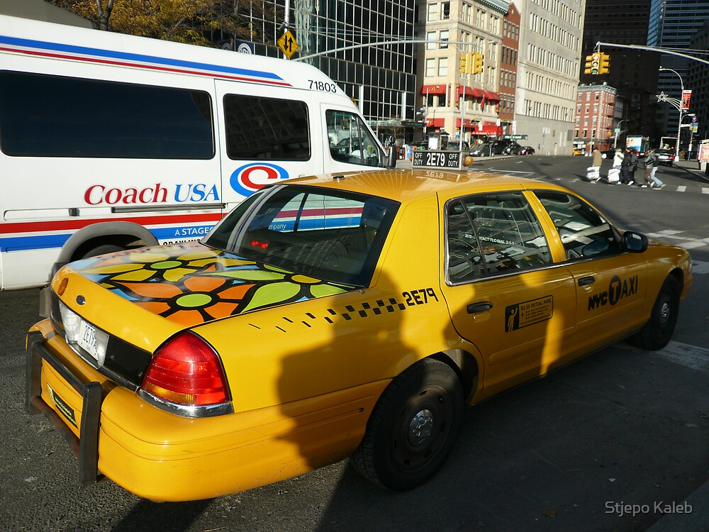 NYC TAXI by Stjepo Kaleb