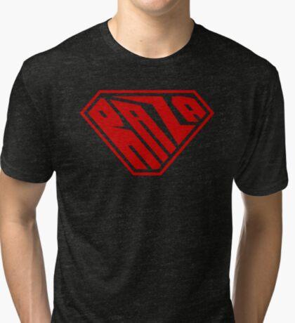 Raza SuperEmpowered (Red) Tri-blend T-Shirt