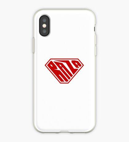 Raza SuperEmpowered (Red) iPhone Case