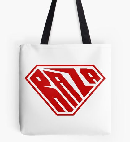 Raza SuperEmpowered (Red) Tote Bag